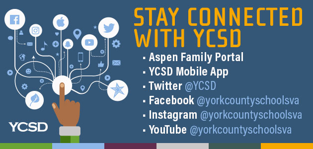 Stay connected with York County School Division